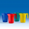 Bunte Messbecher aus PP stapelbar 500ml