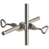 Doppelmuffen aus Edelstahl / Double sockets made of stainless steel