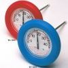 Schwimmbad-Thermometer als Rundthermometer (Ablesung von oben!)